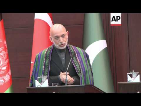 Karzai says US must respect Afghan sovereignty, Sharif comment