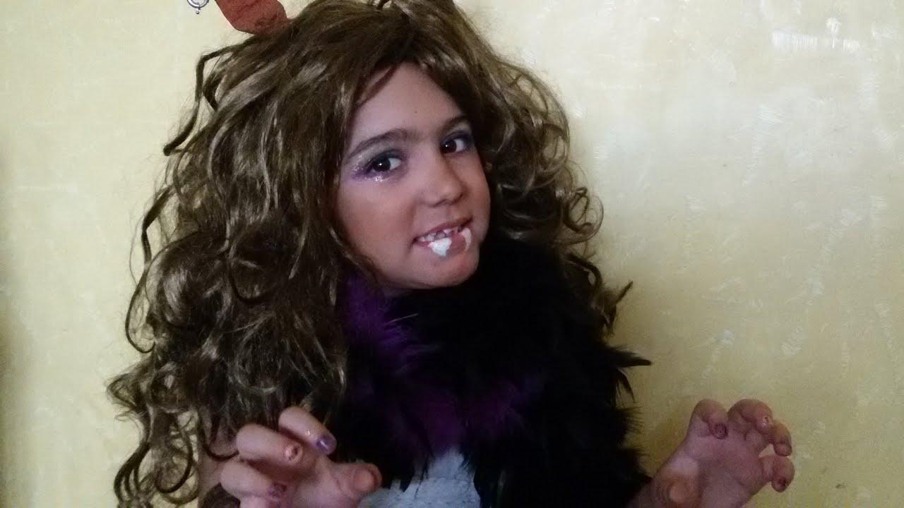 Clawdeen wolf monster high movie makeup tutorial step by step and clawdeen wolf monster high movie makeup tutorial step by step and costume youtube baditri Gallery