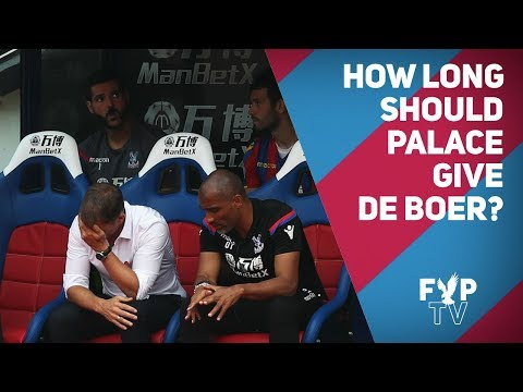 How long should Palace give De Boer? [FYP Podcast]