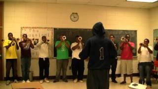 AAMU Band - 2010 Trumpet Fanfares