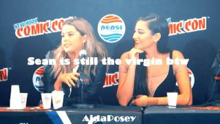 Pretty Little Liars Cast - the best moments on Comic Con 2015