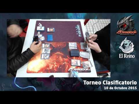 Batalla 1 - Pablo Pastene vs Juan Madera - Clasificatorio Armagedon Octubre 2015