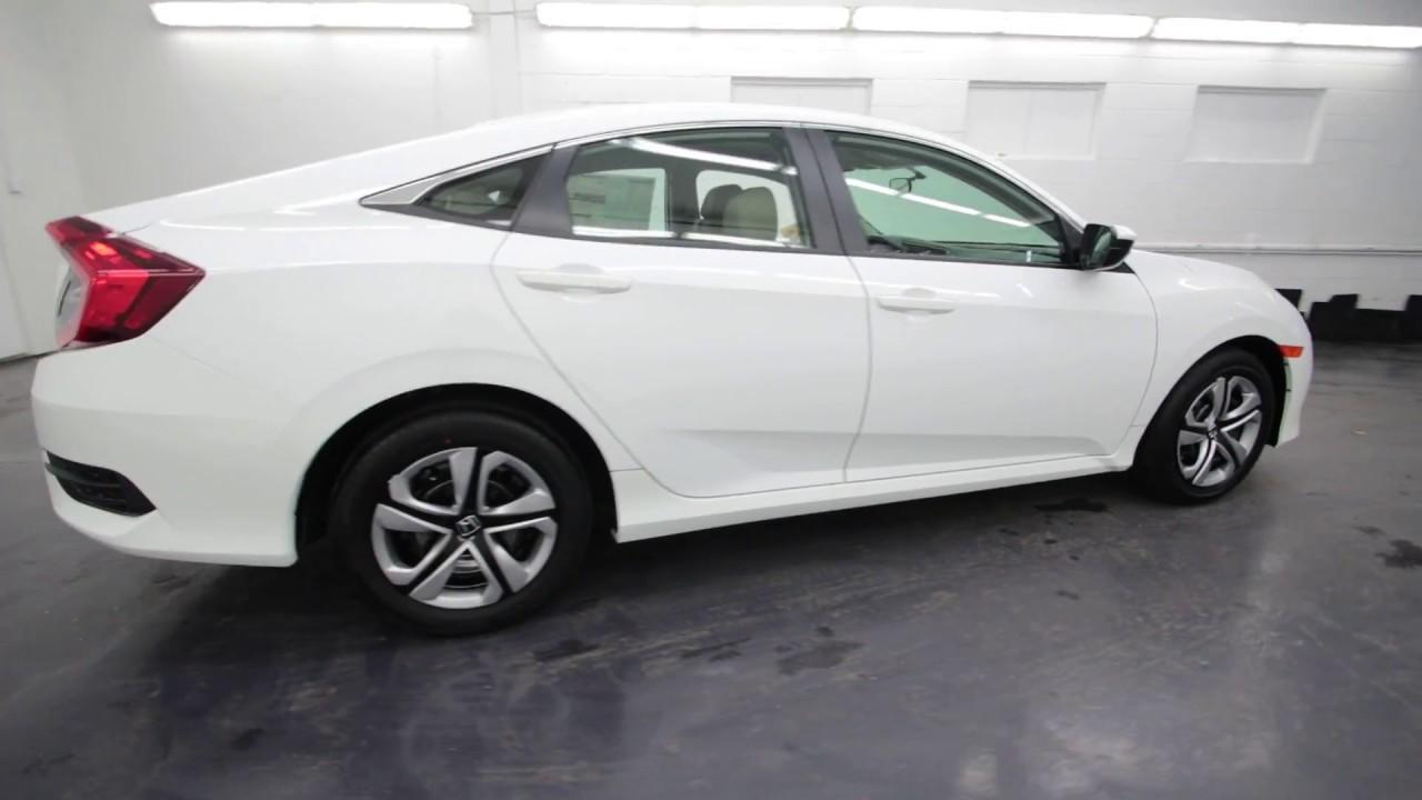2017 Honda Civic LX | Taffeta White | HE206851 | Seattle ...