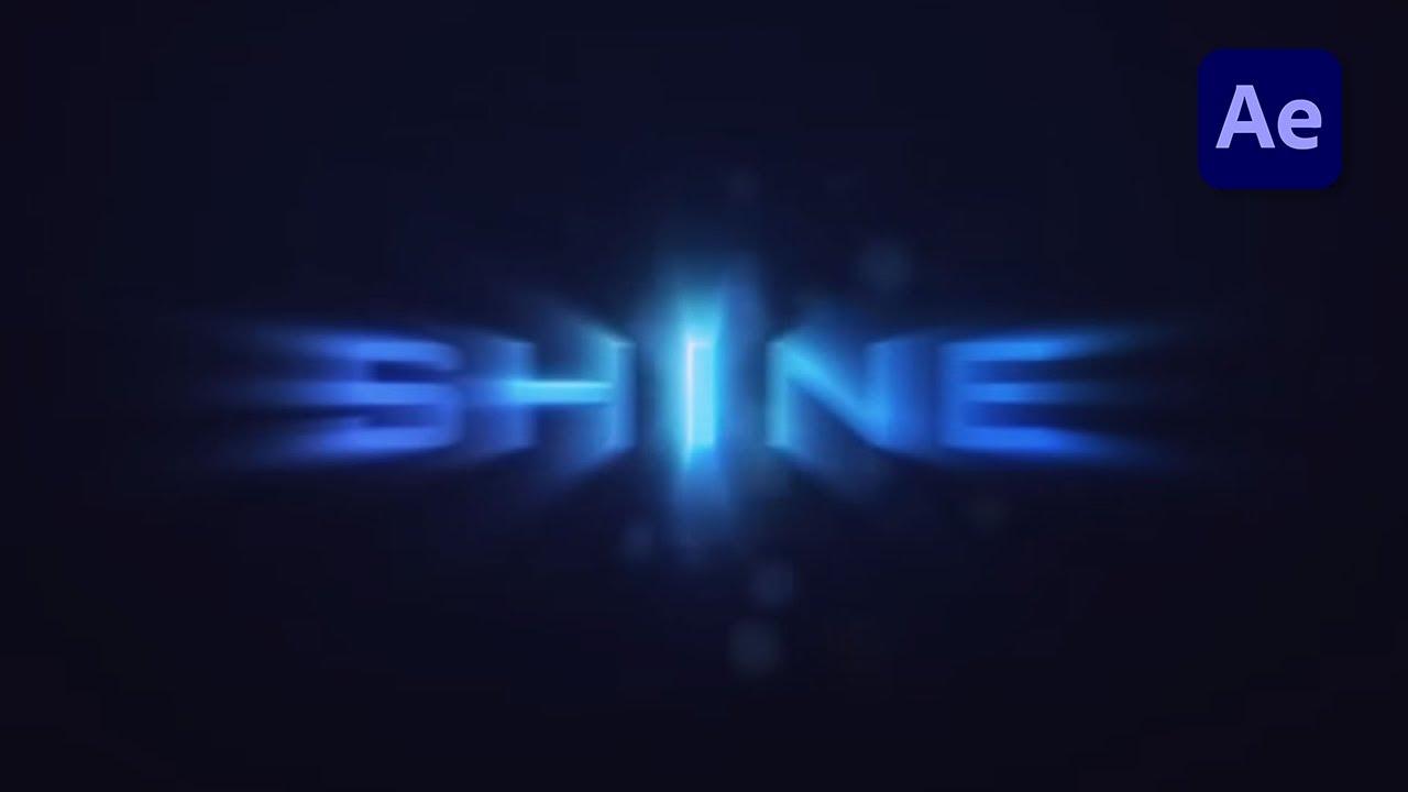 after effect shine plugin