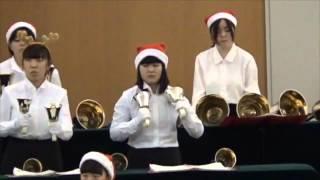 山形学院高校ハンドベル部「第11回クリスマスコンサート」 2015年...