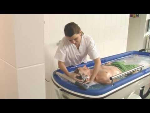 mobile shower bathing trolley video youtube japanese soaking tub shower combo kitchen amp bath ideas