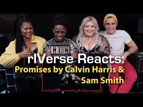 RIVerse Reacts: Promises By Calvin Harris, Sam Smith - M/V Reaction