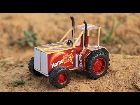 How to Make Matchbox Tractor At Home | Amazing DIY Toy