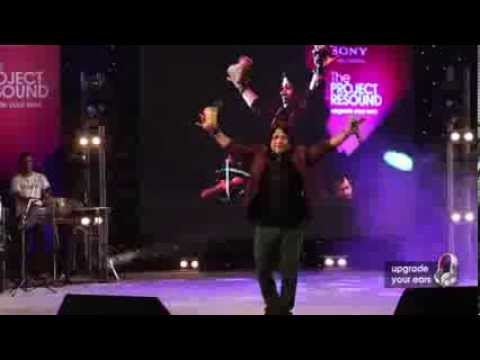 Babam Bam by Kailash Kher live at Sony Project Resound Concert