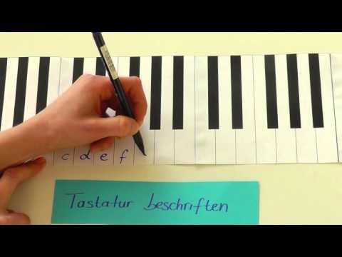 Tastatur beschriften