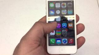 How to change screen timeout time on iPhone 5,6,6 plus.