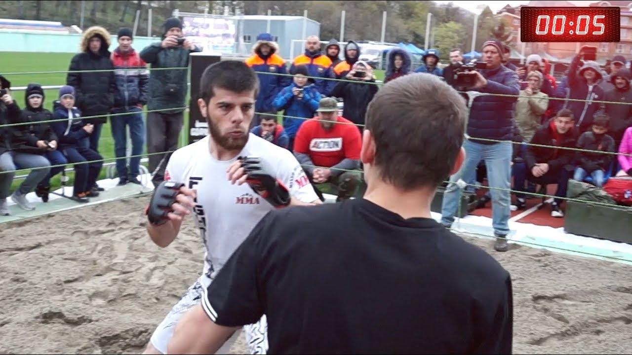 ГОРНЫЙ ВОЛК вышел против Уличного Бойца ММА !!!