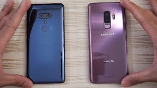 HTC U12 Plus vs Samsung Galaxy S9 Plus - Speed Test!