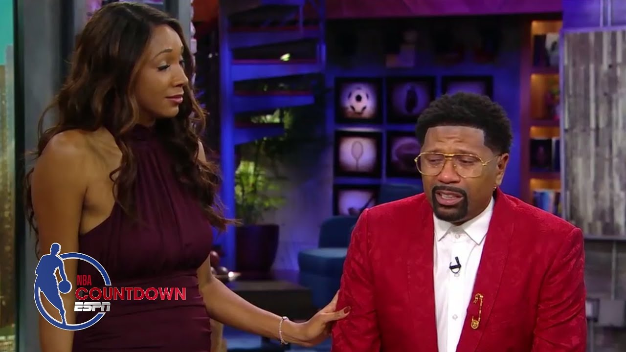 Jalen Rose In Tears Honoring His Late Mom on 'NBA Countdown' (Video)