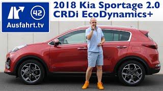 Video Diesel-Hybrid: 2018 Kia Sportage 2.0 CRDi EcoDynamics+ GT-Line - Kaufberatung, Test, Review download MP3, 3GP, MP4, WEBM, AVI, FLV Agustus 2018