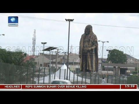 LASG Unveils Gani Fawehinmi's Statue At Liberty Park | Dateline Lagos |