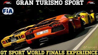 GT Sport - Back Home From The World Finals