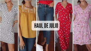 Try on HAUL DE VERANO | ZARA BERSHKA PULL&BEAR PONTETOP   Marilyn's Closet