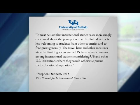 UB sees drop in international student enrollment