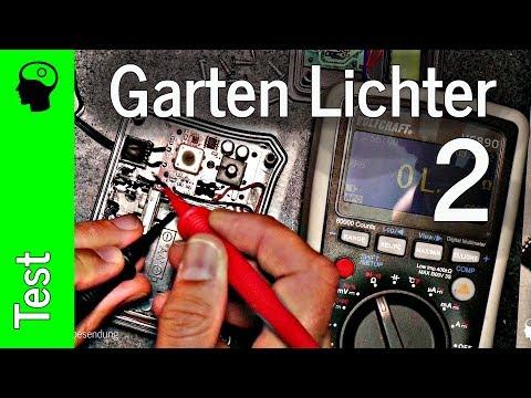 Garten (Solar) Lichterketten (2/2) - mehr Elektroschrott?