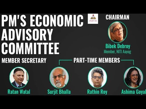 Economic Advisory Council to the Prime Minister, EACPM for upsc - STUDY IAS