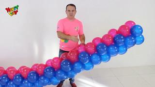 Como Colocar Arco de Balão na Estrutura  - By Tiago Miguel