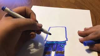 Drawing Jay FS from LEGO Ninjago Season 11