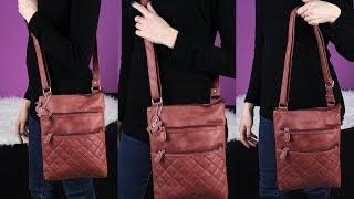 Видеообзор сумки женской через плечо | K-SHOP