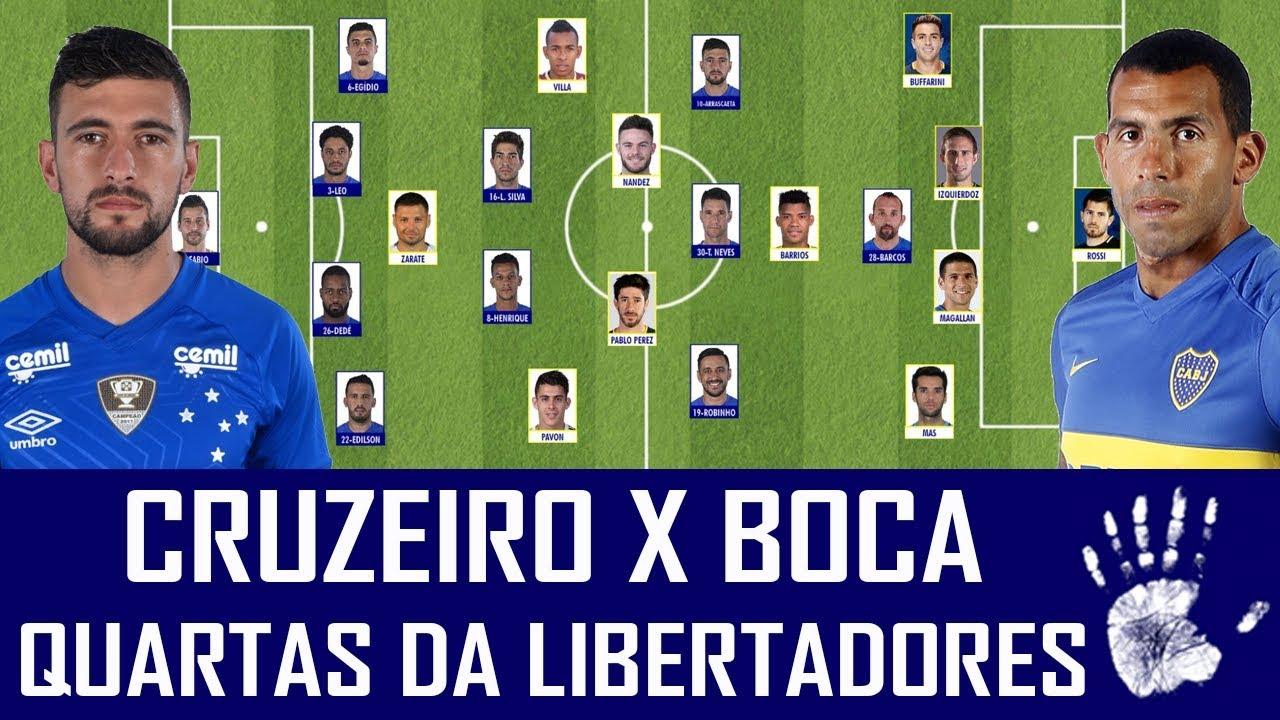 Resultado de imagem para Cruzeiro x boca