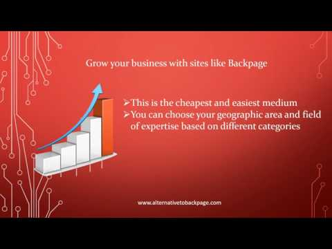 Best sites like backpage
