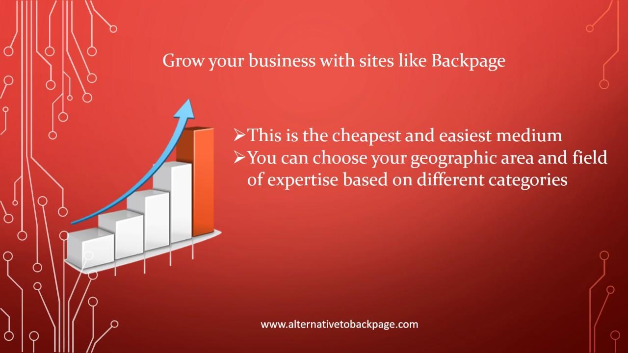 sites like craigslist and backpage