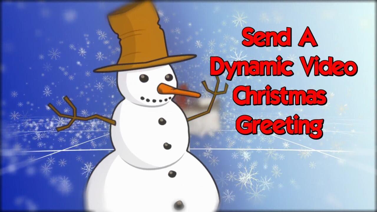 FANTASTIC Christmas Greeting Videos For Facebook, Pinterest, YouTube ...