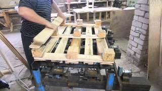 видео: Кондуктор для сборки поддонов