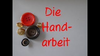Learn German: Die Handarbeit
