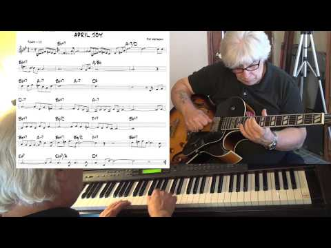 April Joy -  guitar & piano jazz funk cover (Pat Metheny) - Yvan Jacques