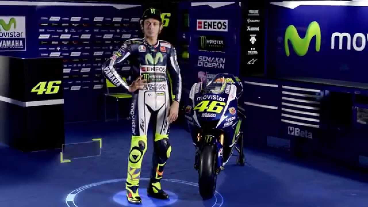 画像: Valentino Rossi - Movistar Yamaha MotoGP 2015 youtu.be