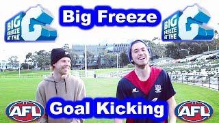 ICE BUCKET AFL GOALKICKING CHALLENGE