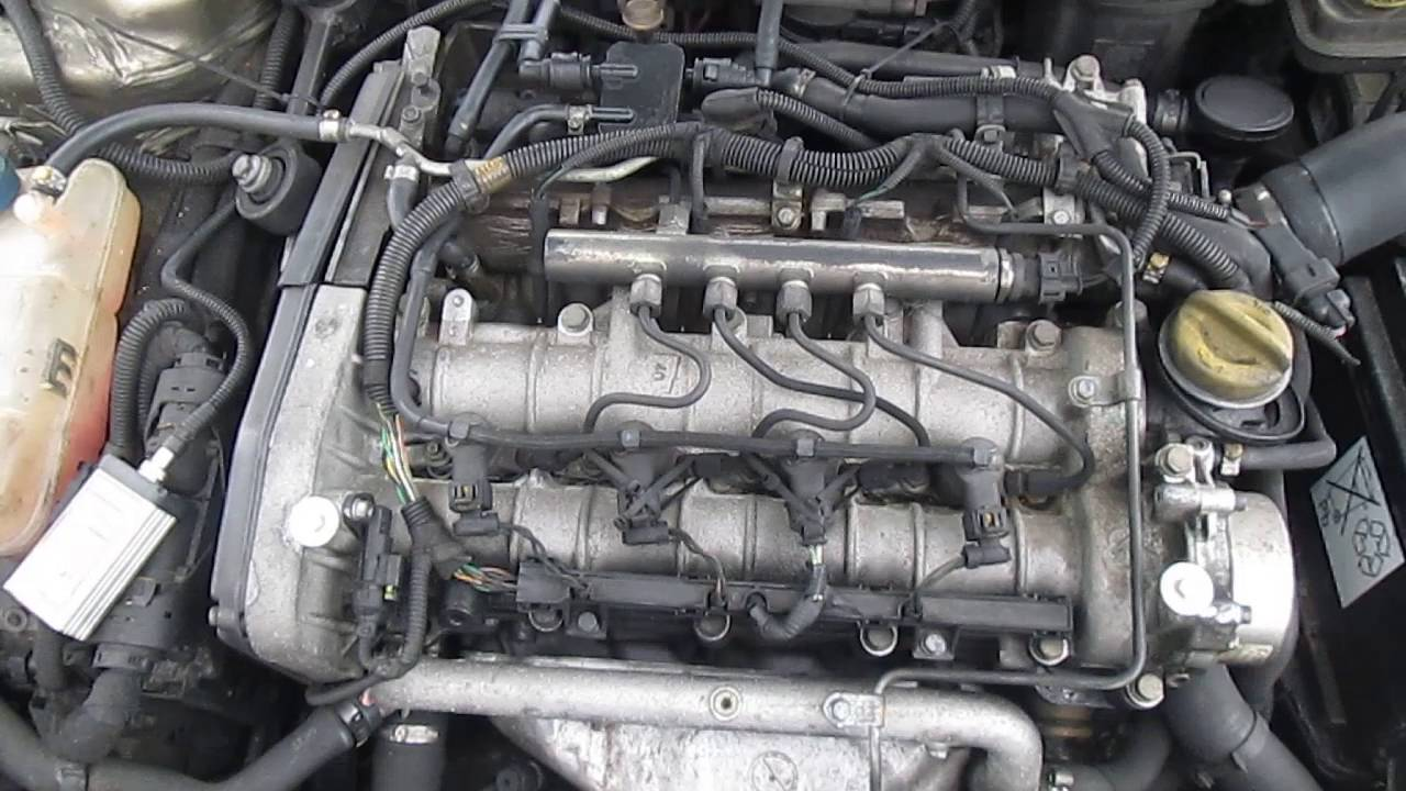Alfa romeo 156 2004 19 JTD 150 BHP Engine  YouTube