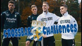 Crossbar challenges med IFK Göteborg spelare! Søren Rieks & Mikael Boman!
