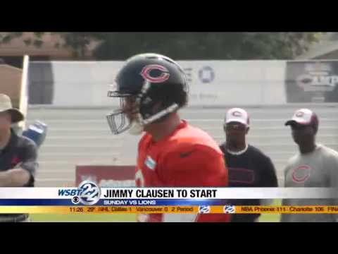 Chicago Bears to start Clausen over Cutler
