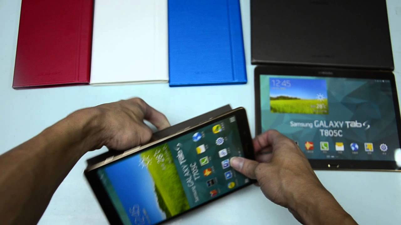 🔧Galaxy TAB S Glass Only Replacement - FULL GUIDE - YouTube