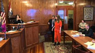 Alyssa Bustamante takes stand to appeal guilty plea
