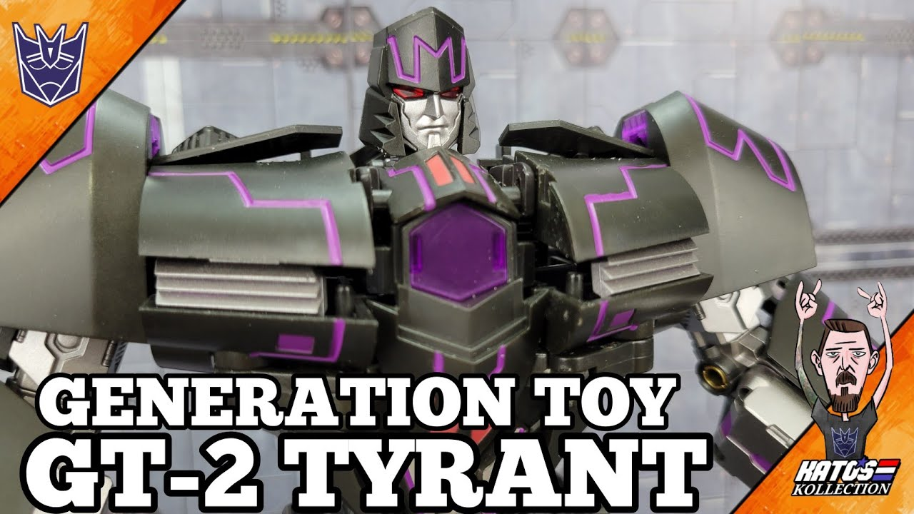 Generation Toy GT-2 Tyrant IDW Megatron Review by Kato's Kollection