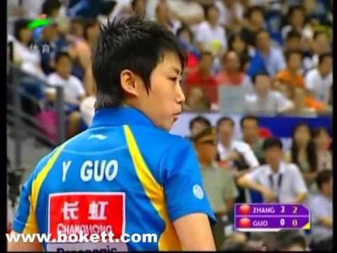 2007 CHN OP Women's Final Zhang yining vs Guo yue