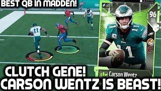 CARSON WENTZ IS CLUTCH! BEST QB IN MADDEN! Madden Ultimate Team 18