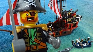 LEGO Pirates The Brick Bounty 70413 - unpacked and Speed Build