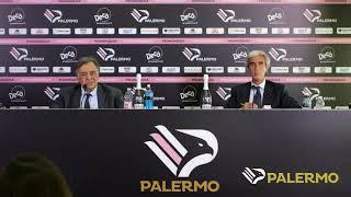 """La conferenza stampa del Presidente Dario Mirri al """"Renzo Barbera"""""""
