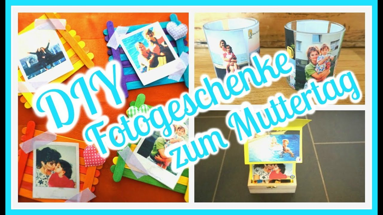 Diy fotogeschenke zum muttertag weeklymel youtube - Diy fotogeschenke ...