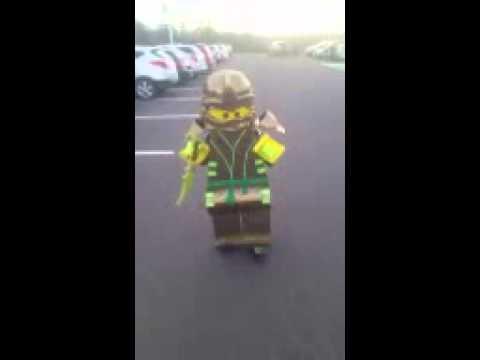 DIY lego ninjago costume!!! & DIY lego ninjago costume!!! - YouTube