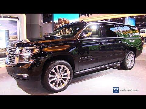 2019 Chevrolet Suburban Premier - Exterior and Interior Walkaround - 2019 Detroit Auto Show